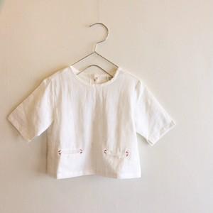 麻風コットンシャツ