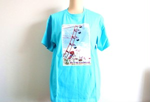 Way To Route66 Tシャツ ブルー