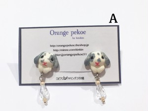 Orange pekoe by kinkin うさぁちゃんイヤリング