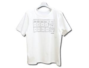 Paimy_17SS_マーキングTシャツ/ホワイト