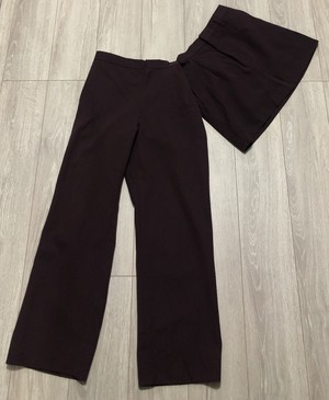 SS1999 COMME DES GARCONS 2in1 SKIRT TROUSERS
