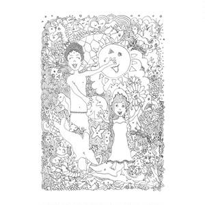 「山の幸と海の恵」/印刷用データ
