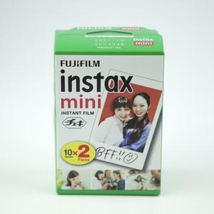 チェキフィルム[2パック]ホワイトフレーム  カラー instax mini インスタントフィルム [10枚入り2パック]