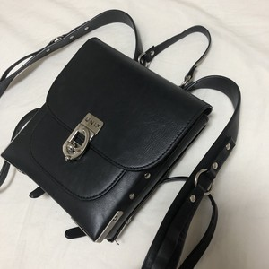 UNIF mini leather bag
