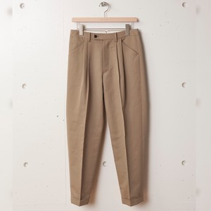 tilt The authentics / 2Tuck Tilt Dart Trousers [Blue Beige]