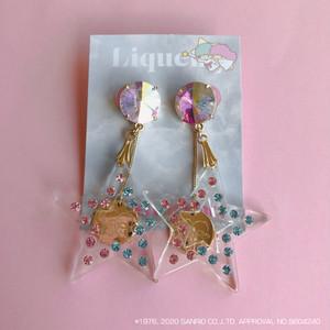 【イヤリング】Little Twin Stars x Liquem / キキララ・イヤリング