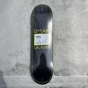 DOOM SAYERS / OMAR SALAZAR / SNAKE SHAKE/ BLACK / 8.4x32.5inch (21.5x82.7cm)