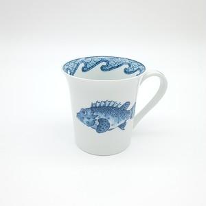 魚紋 フリーマグカップ