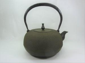鉄瓶 丸形アラレ(大)1.8L