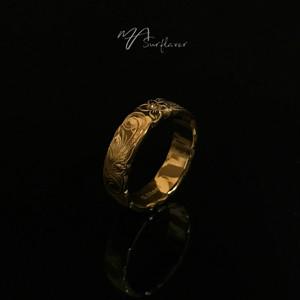 24kgp Hawaiian jewelry ring(中)