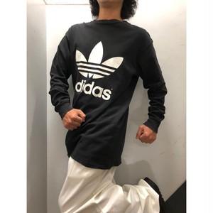90's adidas ロングスリーブ Tシャツ