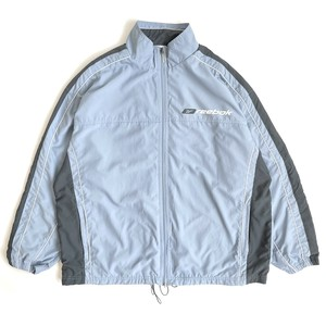 USED 00's Reebok, track jacket - light blue
