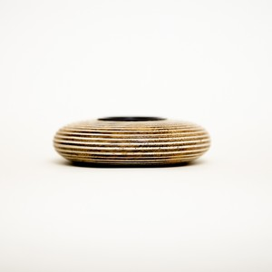 tealight candle holder wood circle