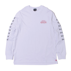 HARD TO EARN L/S TEE (WHITE)