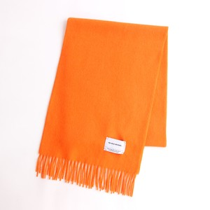 THE INOUE BROTHERS/Brushed Scarf/Orange