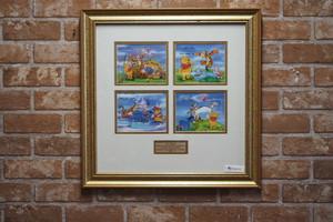 品番AK-001 1998年 プーさん記念切手セット 額付き