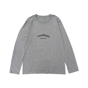 THURSDAY - ARCH L/S TEE (Grey)