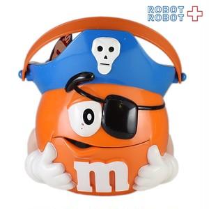 M&M's プラスチック ハロウィンバケツ パイレーツ エムアンドエムズ