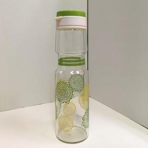 ハリオ ガラスのフリーザーポット【黄緑】(022521080)