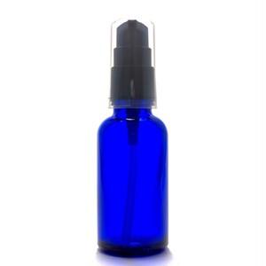 ガラスポンプボトル30ml(ブルー)
