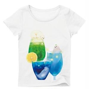 あざらしが涼しくなるTシャツ レディース