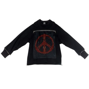 Peace Sweat Shirts (Black)