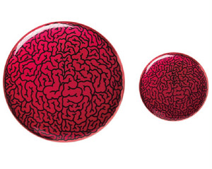 Brain Badge