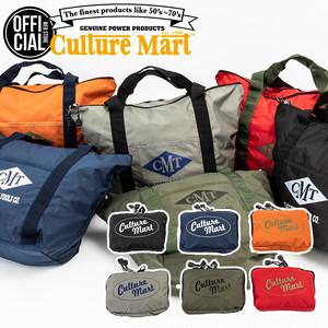 カルチャーマート FOLDING TOTE BAG (折り畳みトートバッグ) 選べる6色