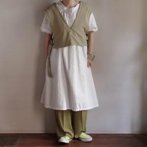 Select Item Rib Vest #2 pistachio / セレクトアイテム リブベスト ピスタチオ