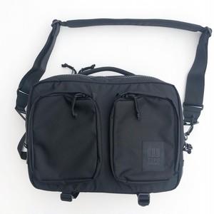 "TOPO Designs ""Global Briefcase"" Ballistic Black"
