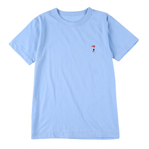 CUT × Boys in Tokyo Sentimental コラボレーションTシャツ【サックスブルー】