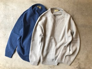 GLEN FYNE / SINGLE BED CREW PULLOVER WITH GADGET