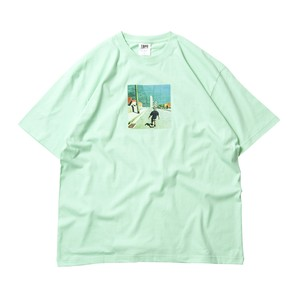 TIGHTBOOTH GO TO HEVEN MINT L タイトブース Tシャツ