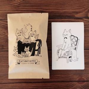 Nao Sakamoto × CLOUDS コーヒー&ポストカードセット
