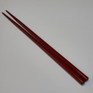 赤 箸 [ 表面:樹脂 素地:天然木 ] [ 22.5cm 表面:樹脂 素地:天然木 ] 【黒と白】