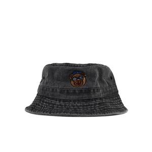 BB BEAR BUCKET HAT / BLACK