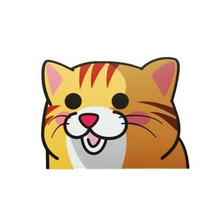 茶トラ(大)     猫ステッカー