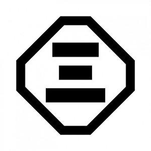 隅切角に三の字 aiデータ
