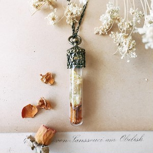 Bottle pendant -Autumn-