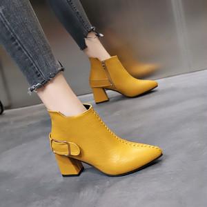 【shoes】合わせやすい切り替え人気ファッションブーツ24763606