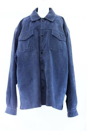 〜90's leather shirt jacket