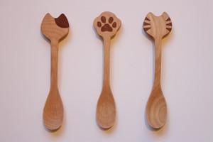 猫スプーン(3種類)