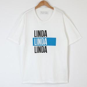 (黒Lのみ)LINDA tee (18AW tee-03)