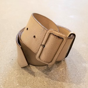 PRADA leather belt / Made In Italy [c-224]