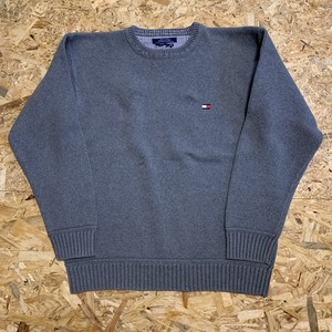 1990's TOMMY HILFIGER Cotton Knit Sweater 【19111618】