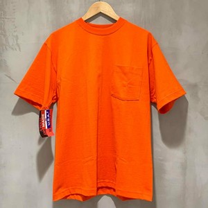 CAMBER-MAX-WEIGHT POCKET S/S TEE - orange