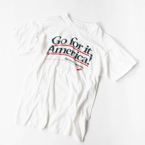 old print T-shirt  Go for it, America!
