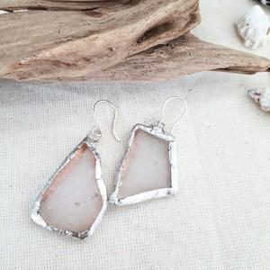 海辺の宝石⭐seaglass pierce