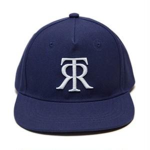 TOKYO RECORDS LOGO FLAT CAP(BLUE x WHT)