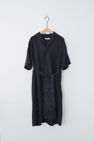 【ORDINARY FITS】 CLERICAL ONEPIECE linen/OF-O005L